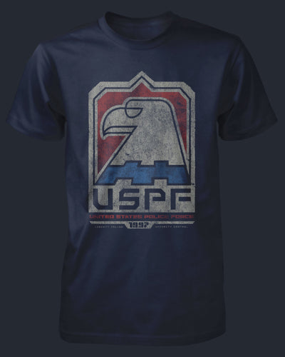 United States Police Force Shirt Fright-Rags