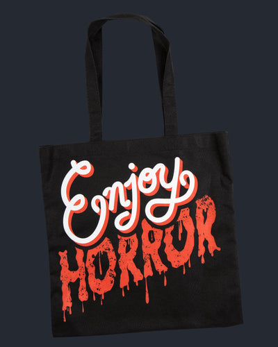 Enjoy Horror Tote Bag Tote Bag Fright-Rags