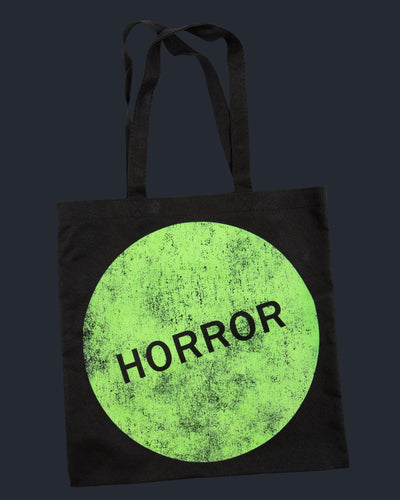 Horror Sticker Tote Bag Tote Bag Fright-Rags