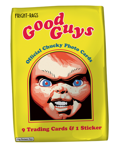 Chucky Trading Cards - Single Pack WaxPack Fright-Rags