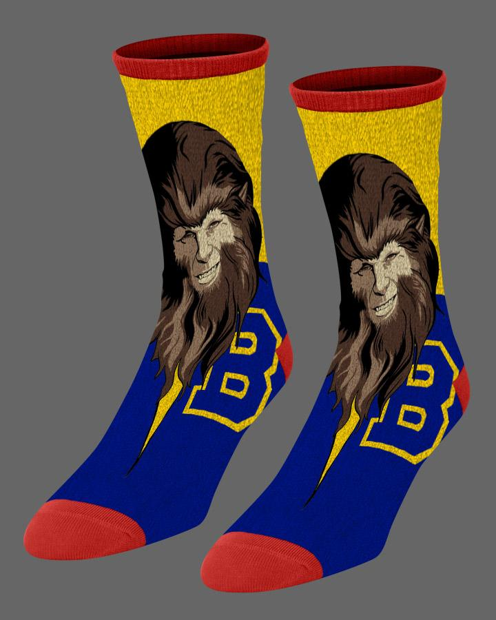 Teen Wolf Socks