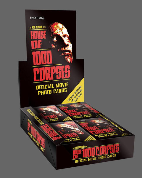 House of 1000 Corpses Trading Cards - Sealed Box