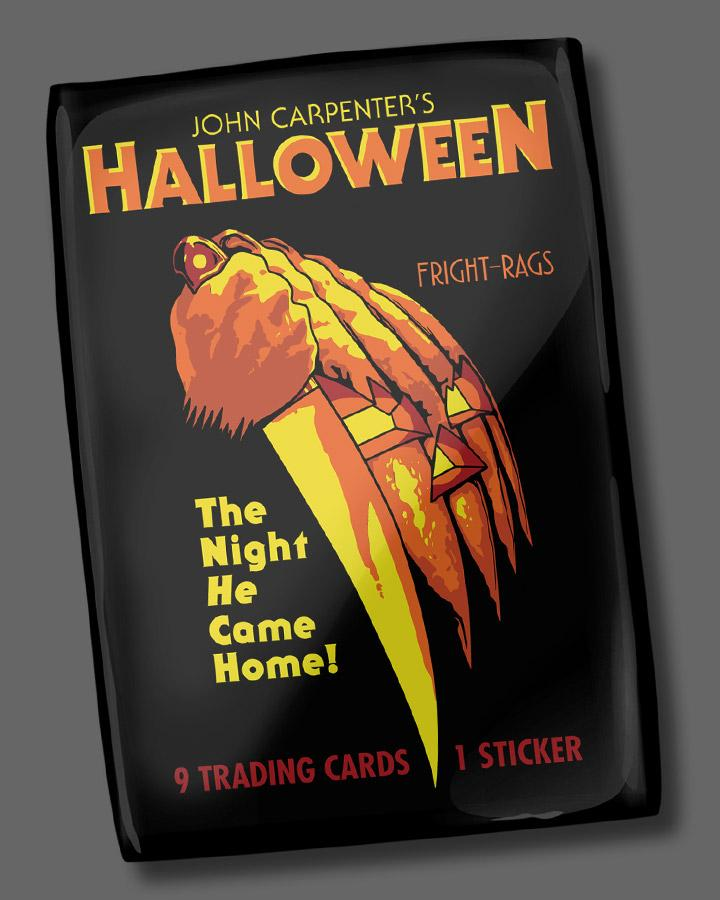 Halloween Trading Cards - Single Pack