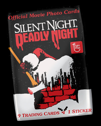 Silent Night Deadly Night Trading Cards - Single Pack WaxPack Fright-Rags