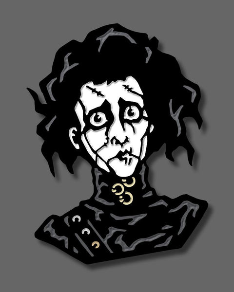 Edward Scissorhands - Enamel Pin