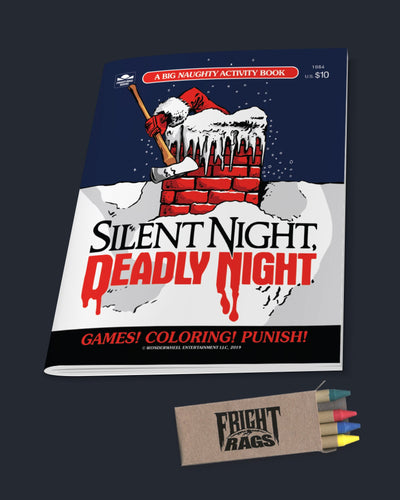 Silent Night Deadly Night - Activity Book Book Fright-Rags
