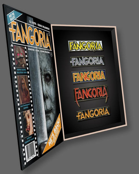 Fangoria 40th Anniversary - Enamel Pin Box Set (SHIPS THE WEEK OF JULY 26)