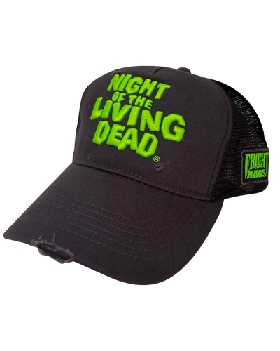 Night of the Living Dead Logo Hat Hats Fright-Rags