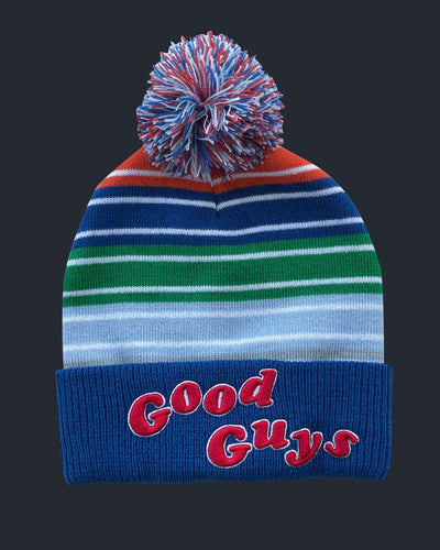 Good Guys Pom Beanie Hats Fright-Rags