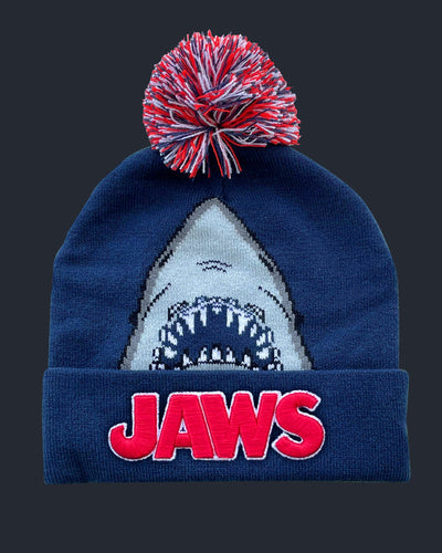Jaws Pom Beanie Hats Fright-Rags