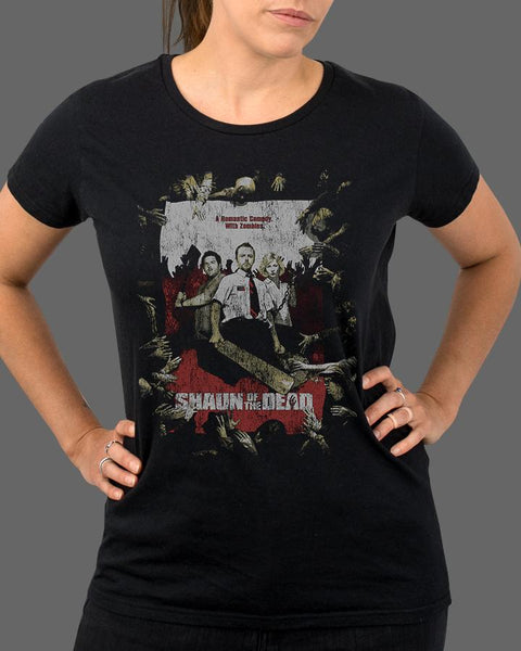 Shaun of the Dead Classic - Womens Shirt