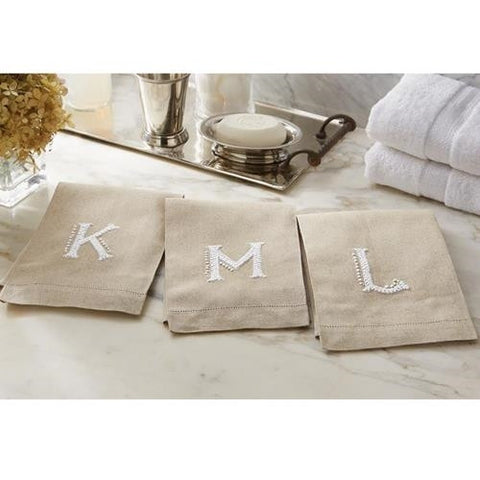 French Know Initial Towel