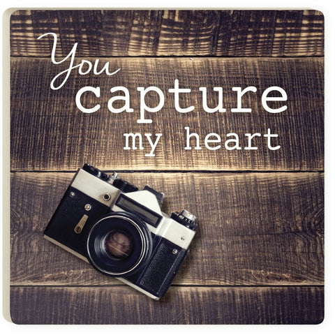 Capture My Heart Coaster