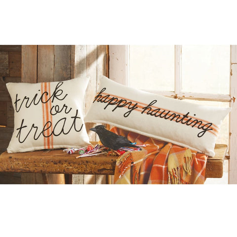 Halloween Ticking Pillow