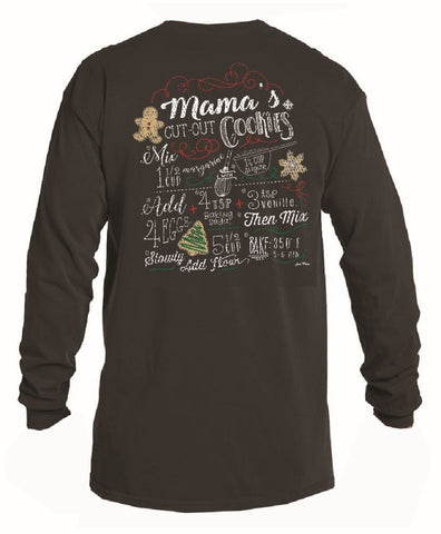 Cut Out Cookies Long Sleeve T-Shirt