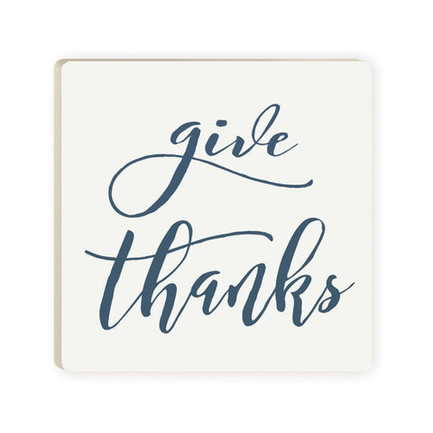 Give Thanks Coaster