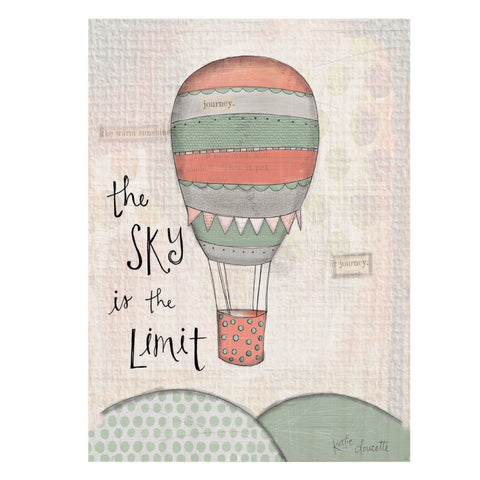 The Sky Is The Limit Sign