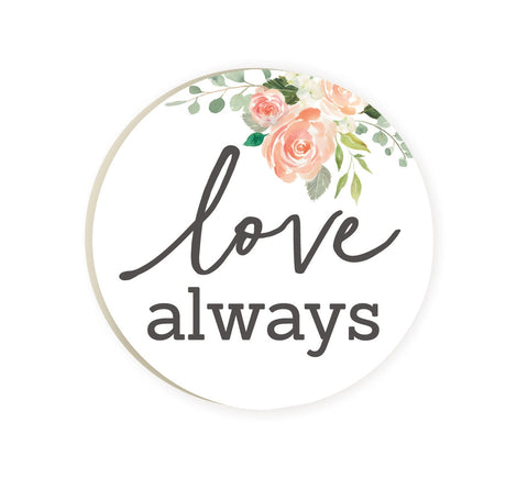 Love Always Car Coaster