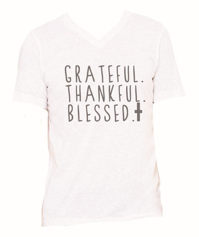 Grateful,Thankful,Blessed T-shirt