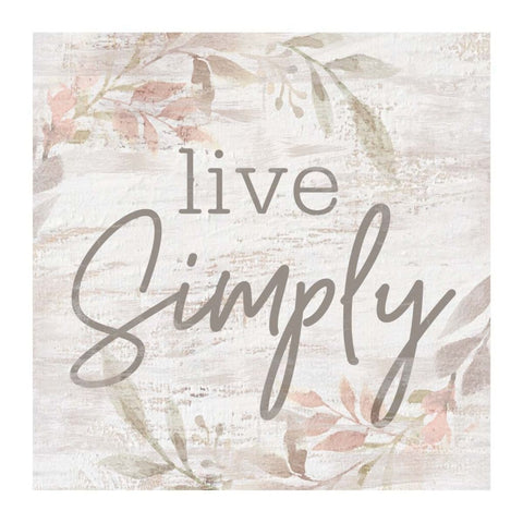 Live Simply Small Block