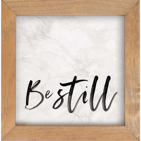Be Still Framed Art