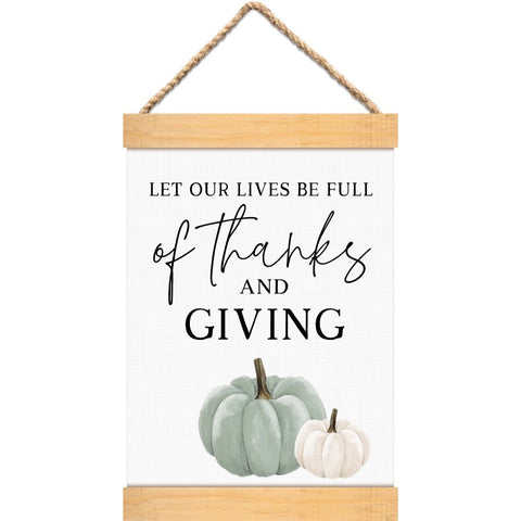 Full of Thanks & Giving