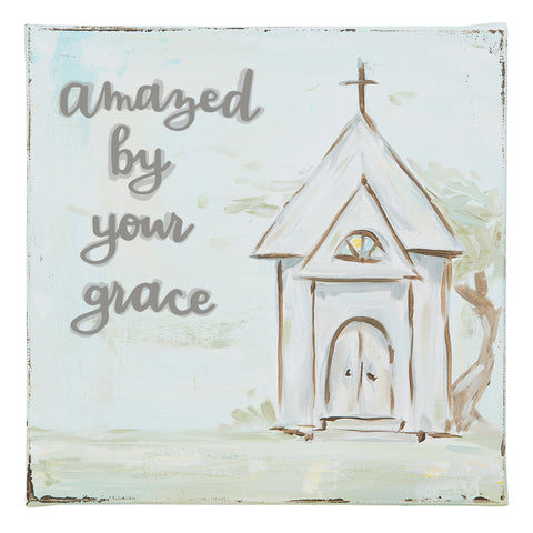 Amazed By Your Grace Church Sign