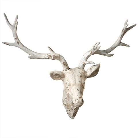 Distressed Deer Wall Décor