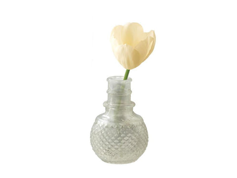 Bottle Vase, Small Glass