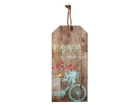 Bike Wood Wall Hanger - Blue