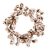Cotton Pod Wreath, 24""