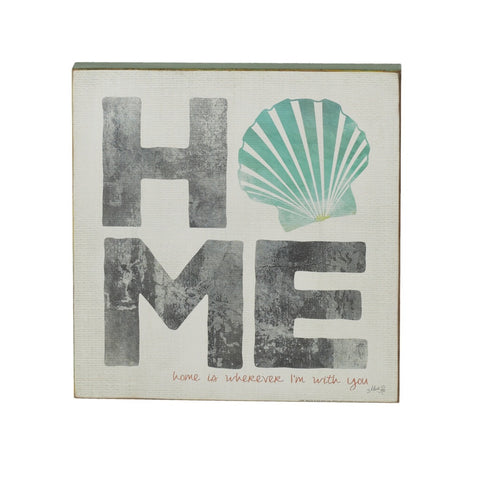 Home Shell Wall Art