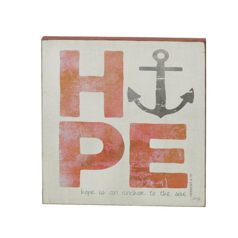 Hope Anchor Wall Art
