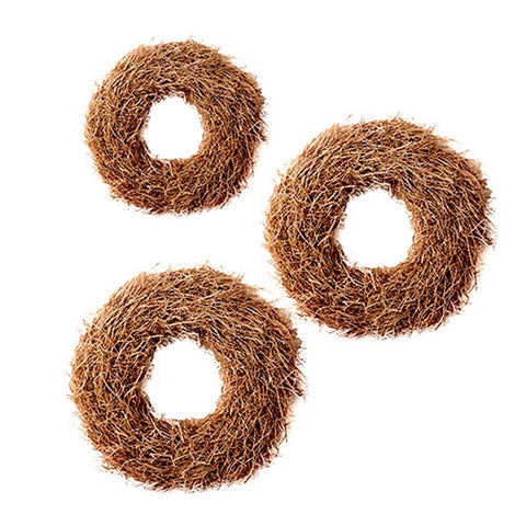 Natural Brown Grass Wreath