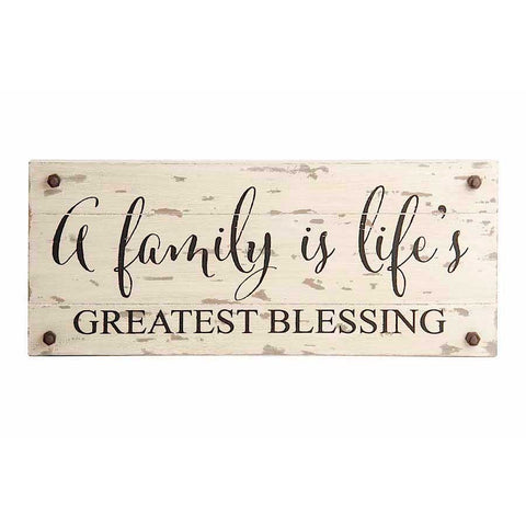Greatest Blessing Barn Board Wall Sign