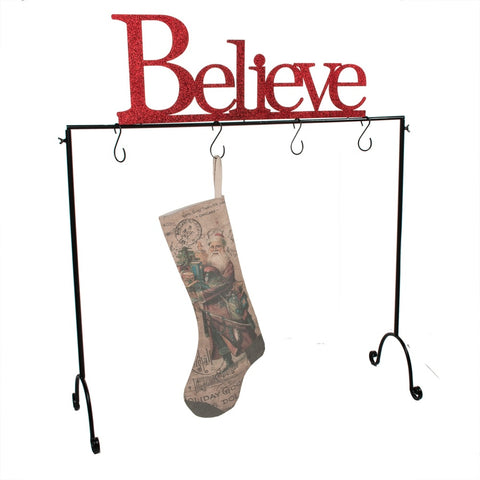 Believe Stocking Hanger