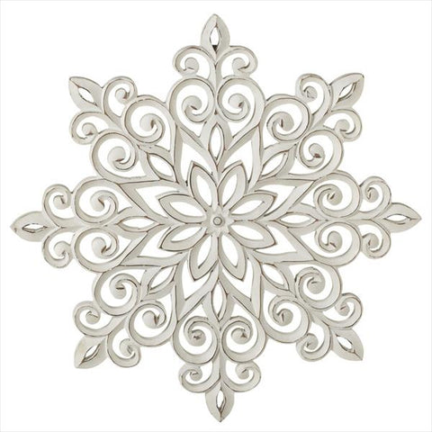 Carved Snowflake Decor