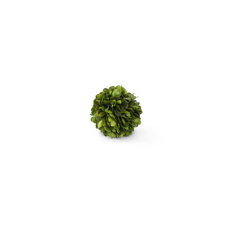 Preserved Boxwood Ball, 2.5""