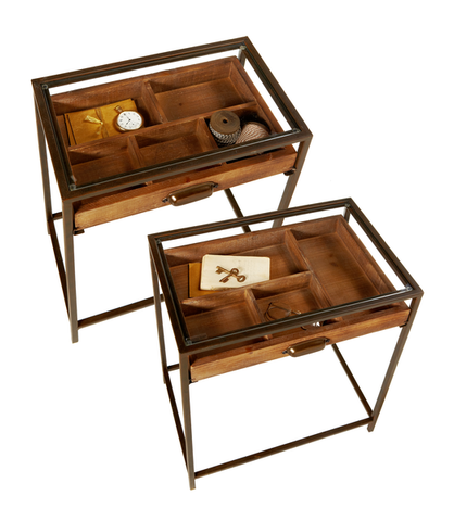Curio Pullout Table