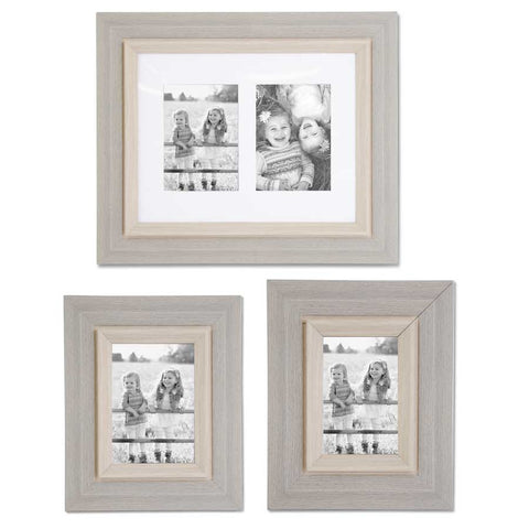 Wood Gray Photo Frame