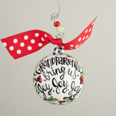 Grandparents Ball Ornament