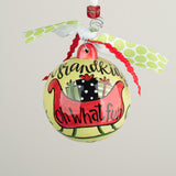 Grandkids Fun Ball Ornament