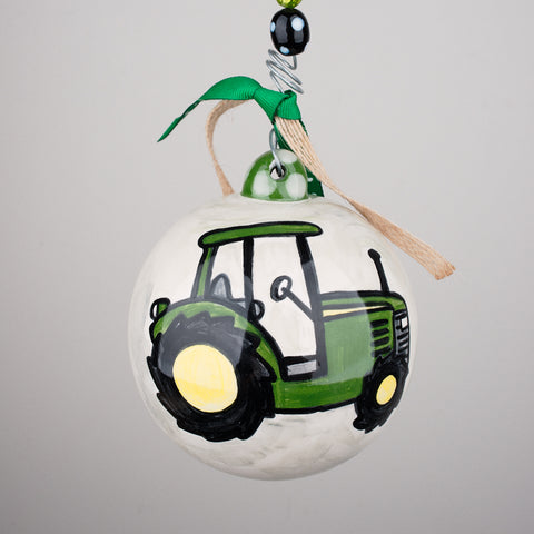 Tractor Ball Ornament