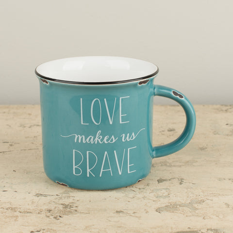Love Makes Us Brave Mug