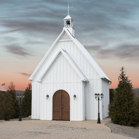 Charming Chapel Paint By Number Kit