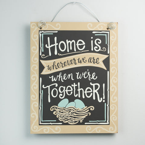Home Is Together Board