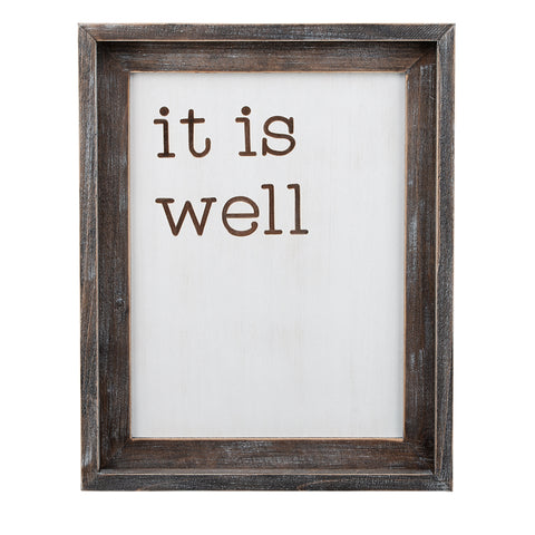 It Is Well Framed Set
