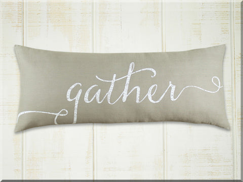 Gather Pillow, Long