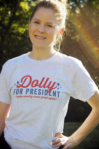 Dolly For President T-Shirt
