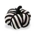 Black and White Striped Fabric Pumpkins
